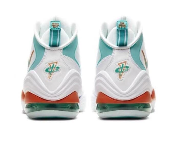 converse weapon:Nike Air Penny 5 Miami Dolphins 迈阿密海豚队莆田鞋!货号:CJ5396-100
