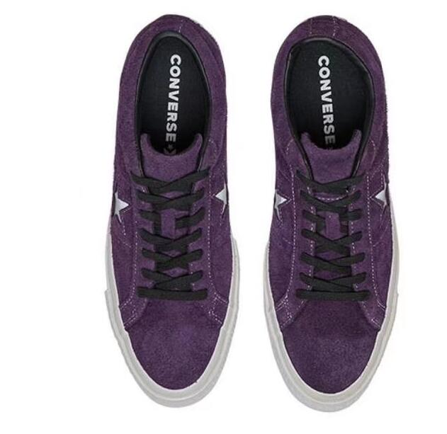 tmac5:Converse One Star Purple/White/Black 紫黑白/翻毛皮莆田鞋!
