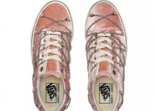 Vans Old Skool Sandy Liang联名!货号:VN0A4U3BXF6