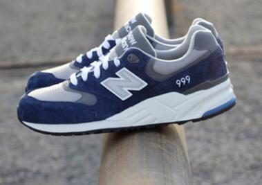 New Balance 999 Navy / Grey / White 靛蓝/灰莆田鞋!货号:ML999NV