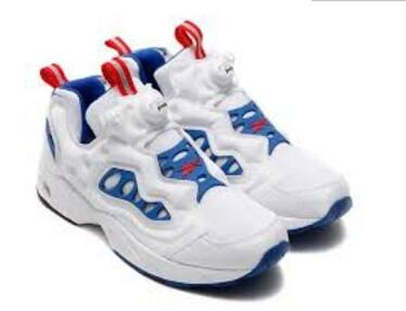 Reebok Insta Pump Fury Road White/Blue/Red 白蓝红A+货莆田鞋!货号:V66586