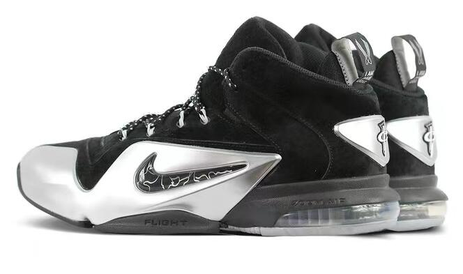 Nike Zoom Penny 6 Black/Metallic Silver 黑灰!货号:749629-002