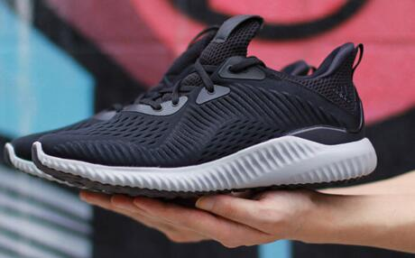 Adidas Alpha Bounce Core Black/White/Utility Black 黑浅灰莆田超A鞋!货号:BY4264