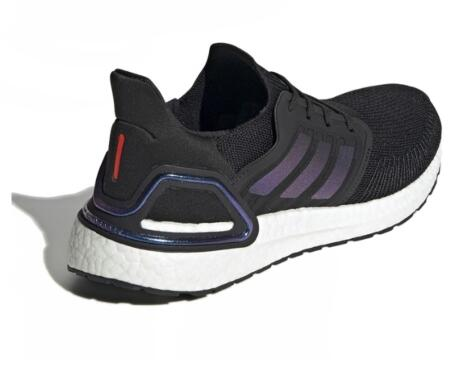 adidas Ultra Boost 2020 Black/Blue Violet 黑白莆田鞋!货号:EG0692