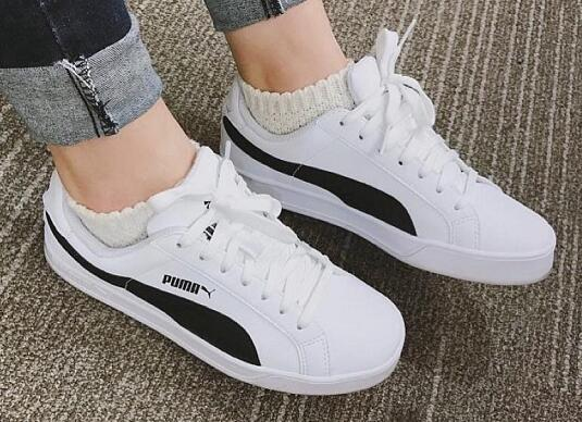 Puma Smash Vulc Black/White 白黑莆田鞋!