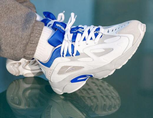 Reebok DMX Series 1200 White/MediumBlue/Black 白蓝黑莆田鞋!货号:DV9226