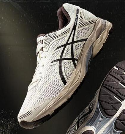 Asics Gel-Flux 4 White 白棕莆田鞋!货号:1011A614-200